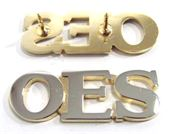OES 3 Letter pin