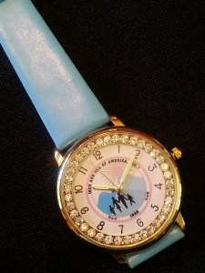 Jack and Jill Crystal Watch-J/J logo