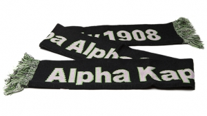 AKA Sorority Knit Scarf-Out of stock