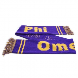 Omega Psi Phi Knit Scarf -Out of stock