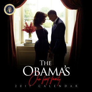 2017 Commemorative Calendar- THE OBAMAS-Our First Family