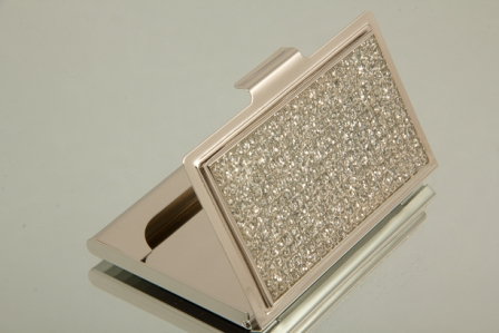 Bling rectangle business card holder new bling rectangle business card holder out of stock colourmoves