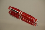 Red Crystal Encrusted 4 inch Pen