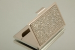 NEW BLING RECTANGLE BUSINESS CARD HOLDER-Out of stock
