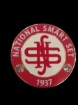 National Smart Set Round  Pin
