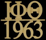 Iota Phi Theta Founded Year Lapel Pin