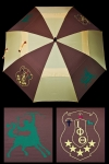 Jumbo Iota Phi Theta Automatic-open, Golf Umbrella-30""