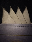 Classic Taupe Pocket Square