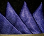 Classic Navy Blue Pocket Square