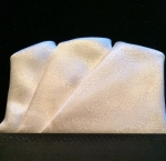 Flat-top Off-White Pocket Square
