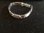 SILVER AND GOLD CHAIN BRACELET