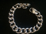 Classic Silver Chunky Chain Bracelet