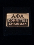 Alpha Phi Alpha Officer Pin- Committee Chairman