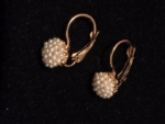 Petite Pearl Cluster Clutchback Earrings