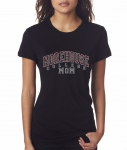 MOREHOUSE MOM Black Bling T-Shirt (Sizes 2x-large-3x-large)