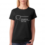 FAVOR AIN'T FAIR Black Bling T-Shirt (Sizes 2x- 3x large)