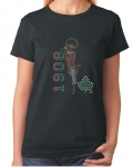 AKA 1908 SISTUH GIRL  Bling T-Shirt (Sizes small -x-large)