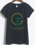 GIRLFRIENDS,INC. Logo Bling T-Shirt (Sizes 2x- 3x-large)