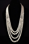 Classy and Elegant 4 Strand Pearl Necklace