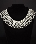 Medium Pearl Collar Necklace -Only 2 left!