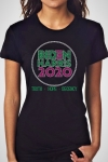 BIDEN-HARRIS CRYSTAL Pink and Green Truth Hope Decency - T-Shirt (Small to X-large)