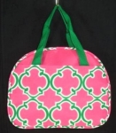 Pink and Green INSULATED LUNCH BOX-Great Buy!