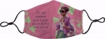 Pinkies Up-Pink and Green Fashion Face Covering-Back in stock