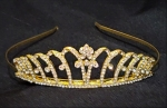 GOLD  RHINESTONE CROWN-Only a few left!
