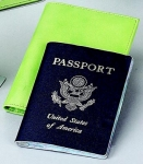 Lime Green Passport Cover