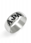 Alpha Phi Alpha Sterling Silver Ring